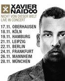 XAVIER NAIDOO am 02.12.2017 in Frankfurt