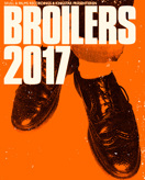 BROILERS am 15.04.2017 in FRANKFURT