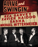 Alive and Swingin - Rea Garvey, Xavier Naidoo, Sasha und Michael Mittermeier am 01.04.2017 in Frankfurt