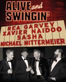Alive and Swingin - Rea Garvey, Xavier Naidoo, Sasha und Michael Mittermeier am 02.04.2017 in Frankfurt