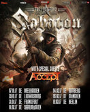 "SABATON + very special guest ACCEPT: ""THE LAST TOUR"" 2017 am 31.01.2017 in Frankfurt"