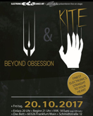 KITE, Support: BEYOND OBSESSION am 20.10.2017 in Frankfurt