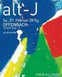 Alt-J - THIS IS ALL YOURS TOUR 2015 in  Offenbach am 07.02.2015